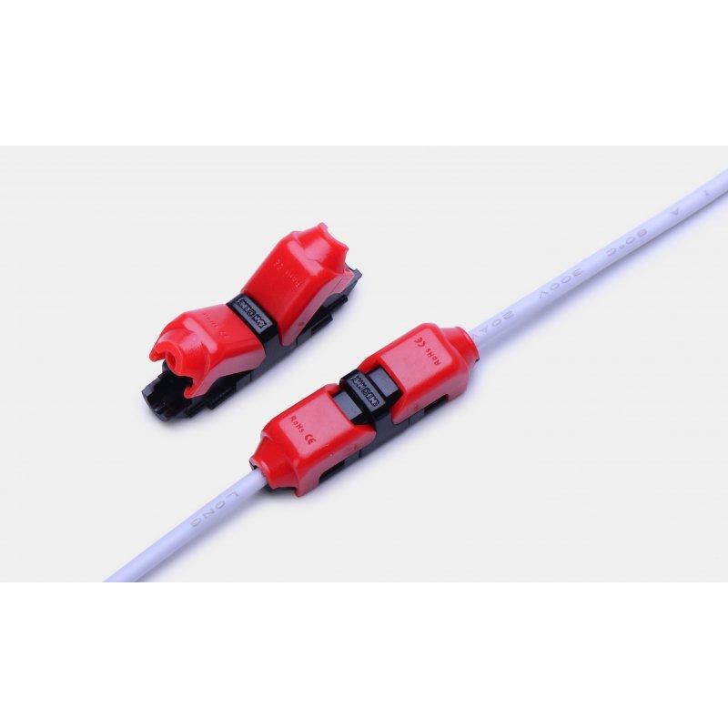 DOTLUX Kabelverbinder I- förmig 1- polig für LED-Streifen (Set 5 St.)