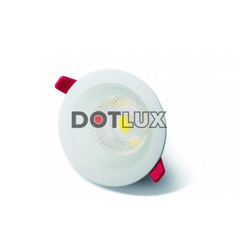 dotlux led downlight circle warmwei 2700 kelvin 3 watt ra 92 abstrahlwinkel. Black Bedroom Furniture Sets. Home Design Ideas