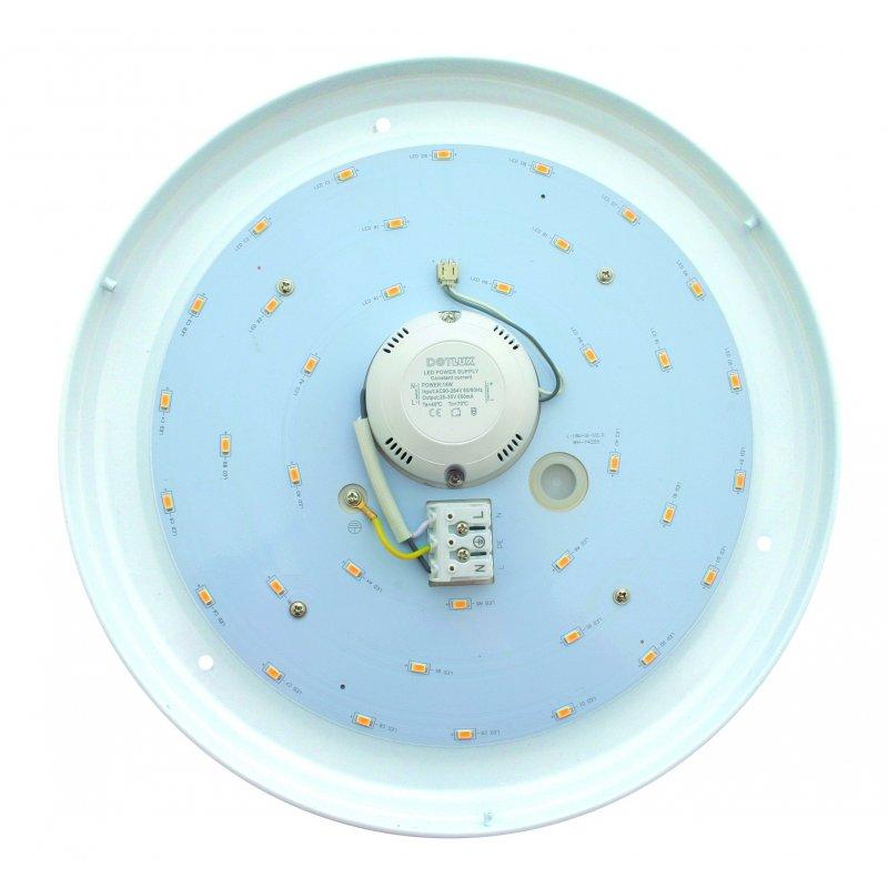 dotlux led leuchte lunasensor ip40 330mm 18w colorselect mit bewegungssensor. Black Bedroom Furniture Sets. Home Design Ideas